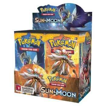 Pokemon Sun and Moon display 36 buste (ENG)