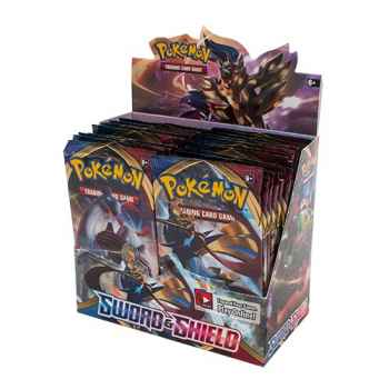 Pokemon Sword and Shield display 36 buste (ENG)