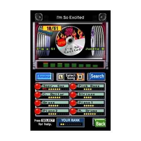 Jam With The Band - Nintendo DS [Versione Italiana]