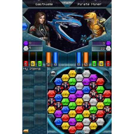 Puzzle Quest Galactrix- Nintendo DS [Versione Italiana]