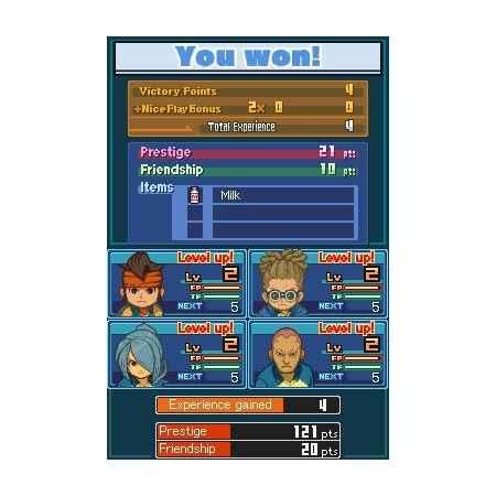 Inazuma Eleven 2: Bufera di Neve - Nintendo DS [Versione Italiana]