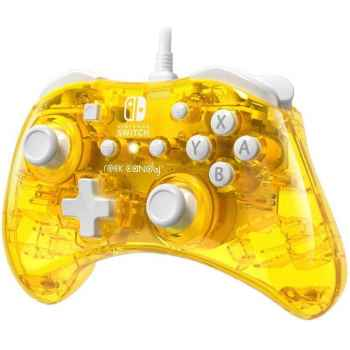 Rock Candy - Official Wired Mini Controller Pineapple Pop Per Nintendo Switch