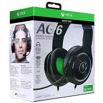 Pdp Afterglow Ag 6 Cuffie Stereo Cablato Per Xbox One Nero 048-103-Eu-Bk - Essentials - Xbox One