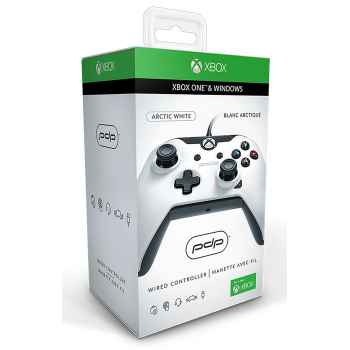 Wired Controller PDP - Arctic White Per Xbox One