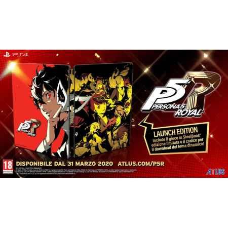 Persona 5 Royal - Steelbook Launch Edition - PS4 [Versione EU Multilingue]