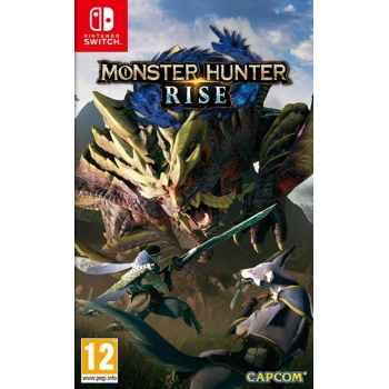 Monster Hunter Rise - Nintendo Switch [Versione EU Multilingue]