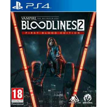 Vampire: The Masquerade - Bloodlines 2 (First Blood Edition)  - PS4 [Versione EU Multilingue]