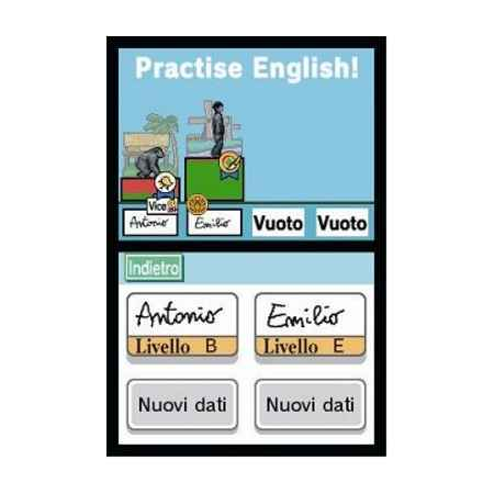 Practise English! Per L'Inglese Di Tutti I Giorni - Nintendo DS [Versione Italiana]