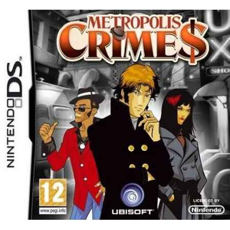 Metropolis Crimes - Nintendo DS [Versione Italiana]