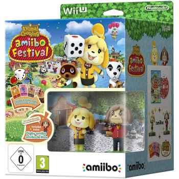 Animal Crossing: Amiibo Festival (+ Amiibo Fuffi + Amiibo Fofò + 3 Carte Amiibo) - Special Edition - WIIU [Versione Italiana]