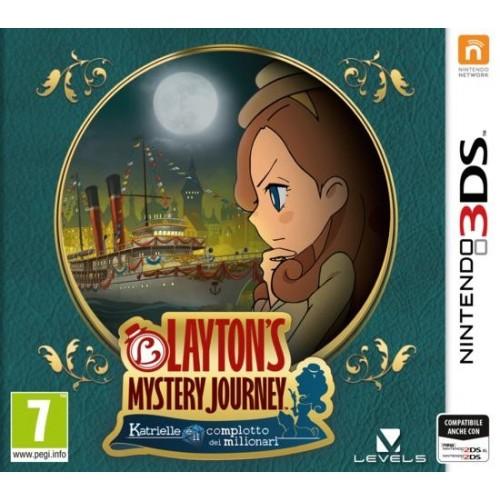 Layton's Mystery Journey: Katrielle e il complotto dei milionari    - Nintendo 3DS [Versione Italiana]