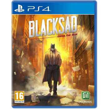 Blacksad: Under The Skin - Limited Edition - PS4 [Versione Italiana]