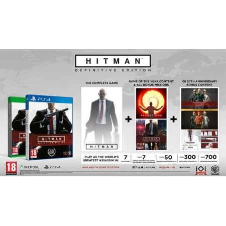Hitman: Definitive Edition - PS4 [Versione Italiana]
