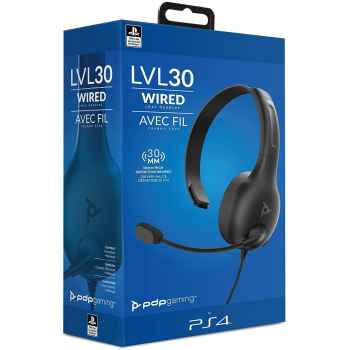 Pdp Cuffie Lvl30 Chat Sony Playstation Nero - Essentials - Playstation 4