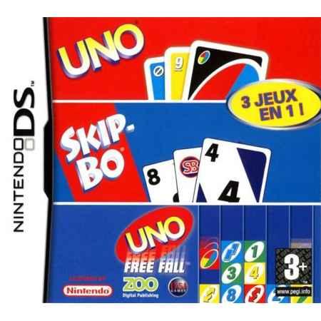 Uno/Skip-Bo/Uno Freefall - Nintendo DS [Versione Italiana]