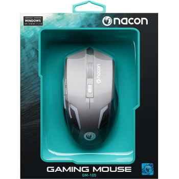Nacon Mouse Gaming con Sensore Ottico - PC