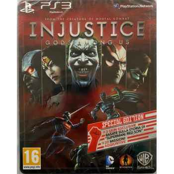 Injustice: Gods Among Us Special Edition Steelbook - PS3 [Versione Italiana]