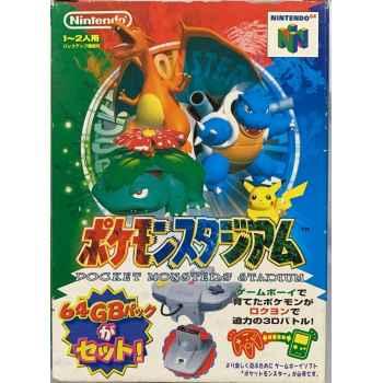 Pokemon Stadium (Big Box) - N64 [Versione Giapponese]