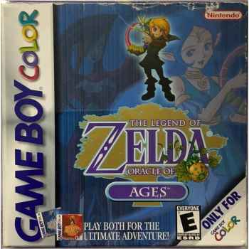 The Legend Of Zelda: Oracle Of Ages - GBC [Versione Americana]