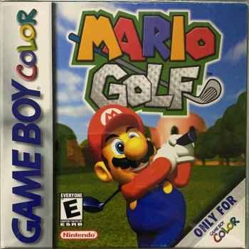 Mario Golf - GBC [Versione Americana]