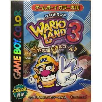 Wario Land 3 - GBC [Versione Giapponese]