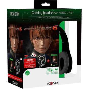 Dead Or Alive 6 Headset Ed. - Bundle - Xbox One (Contiene Cuffie + Gioco)