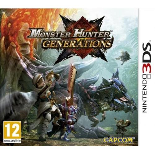 Monster Hunter Generations - Nintendo 3DS [Versione EU Multilingue]