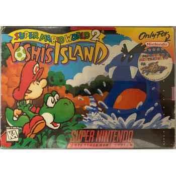 Super Mario World 2: Yoshi's Island - SNES [Versione Americana]