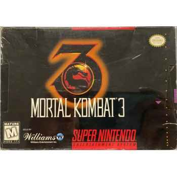 Mortal Kombat 3 - SNES [Versione Americana]