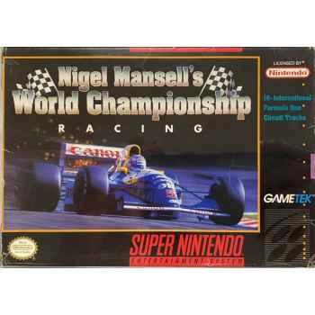 Nigel Mansell's World Champioship Racing - SNES [Versione Americana]
