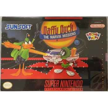 Daffy Duck The Marvin Missions - SNES [Versione Americana]