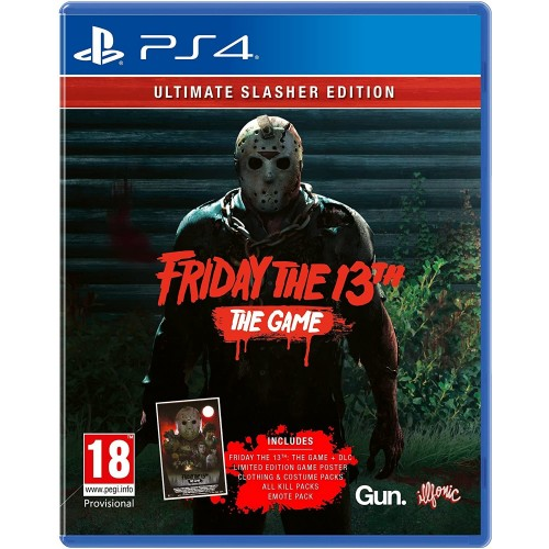 Friday The 13Th: The Game - Ultimate Slasher Edition - PS4 [Versione EU Multilingue]