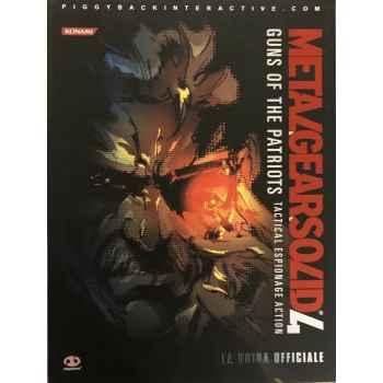 Metal Gear Solid 4: Guida Strategica Ufficiale (Italiano) Copertina flessibile