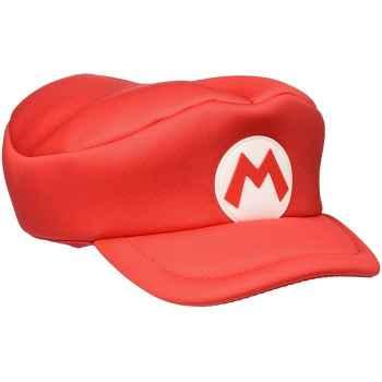 Difuzed  Nintendo - Cappello Rosso di Super Mario Taglia Unica Unisex-Adulto