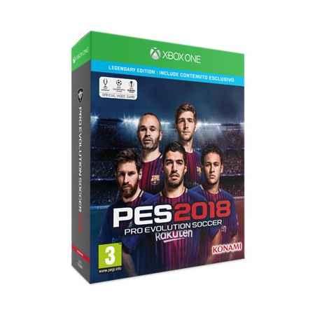 Pro Evolution Soccer (PES 2018) - Legendary Edition - Xbox One [Versione Italiana]