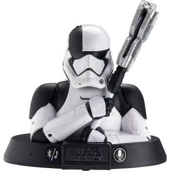 TOYS - Ekids Li-b67t8 Star Wars Trooper Wireless Bluetooth Altoparlante Portatile Bianco (17 x 8.8 x 18.5 cm)