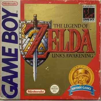 The Legend Of Zelda: Link's Awakening (Nintendo Classics) - GameBoy [Versione Inglese]