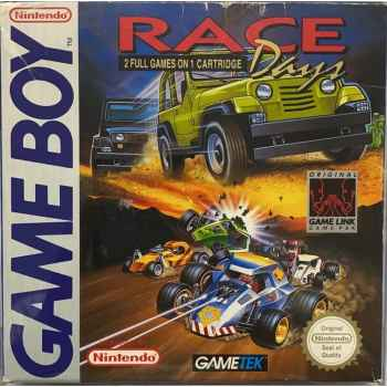 Race Days: 2 Full Games In One Cartridge - GameBoy [Versione Europea]