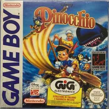 Pinocchio - GameBoy [Versione Italiana Import Inglese]