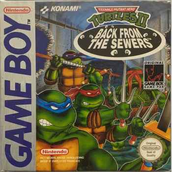Teenage Mutant Hero Turtles 2: Back From The Sewers - GameBoy [Versione Inglese/Tedesca]