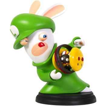 Mario + Rabbids Kingdom Battle - Action Figure Rabbids Luigi (22.8 x 22.8 x 21.4 cm)