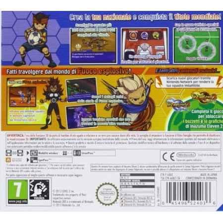 Inazuma Eleven 3: Fuoco Esplosivo - Nintendo 3DS [Versione Italiana]
