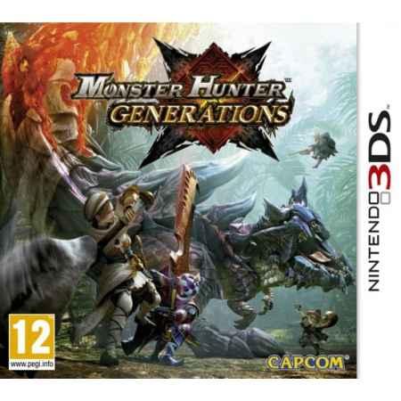 Monster Hunter Generations  - Nintendo 3DS [Versione Italiana]