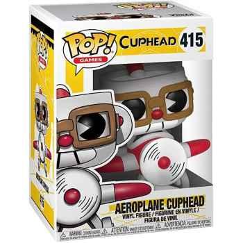 Funko Pop! 415 - Cuphead - Aeroplane Cuphead