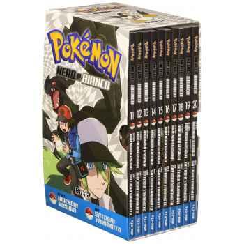 Fumetti - Pokemon Nero e Bianco. Box 2 vol. 11-20 (Italiano) Copertina Flessibile