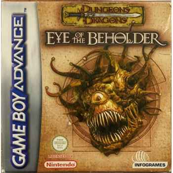 Dungeons And Dragon: Eye Of The Beholder - GBA [Versione Italiana]