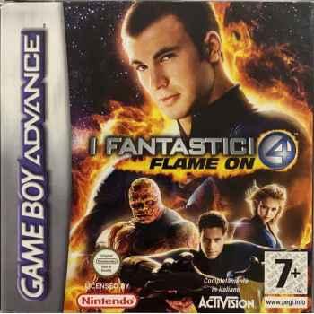 I Fantastici 4: Flame On - GBA [Versione Italiana]