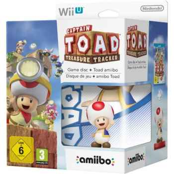 Captain Toad: Treasure Tracker + Amiibo Toad  - WIIU [Versione Italiana]