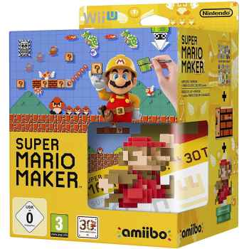 Super Mario Maker + Artbook + Amiibo - WIIU [Versione Italiana]