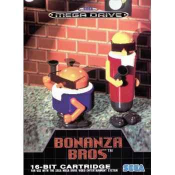 Bonanza Bros. - MegaDrive [Versione Italiana]